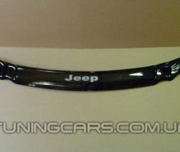 Дефлектор капота (мухобойка) Jeep Grand Cherokee (ZJ) с 1993–1998, (Джип Гранд Чероки)