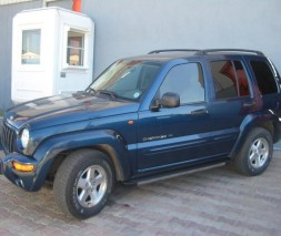 Пороги Jeep Liberty [2002+] EB002 (Elegance Black)