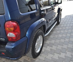 Пороги Jeep Liberty [2001-2008] NS001 (Newstar Grey)