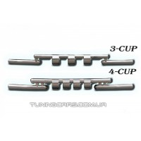 Защита переднего бампера для Kia Sorento (2002-2009) KASR.02.F3-08 d60мм x 1.6