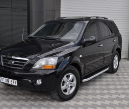 Пороги Kia Sorento [2002-2015] NS001 (Newstar Grey)