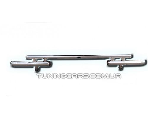 Защита заднего бампера для Kia Sorento (2010-2012) KASR.10.B1-10 d60мм x 1.6
