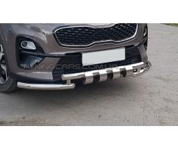 Защита переднего бампера для Kia Sportage (2016+) KASP.16.F3-34 d60мм x 1.6