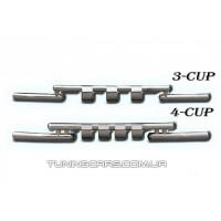 Защита переднего бампера для Kia Sportage (2004-2010) KASP.04.F3-08 d60мм x 1.6