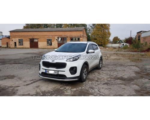 Защита переднего бампера для Kia Sportage (2015+) KASP.16.F3-05 d60мм x 1.6