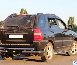 Пороги Kia Sportage [2004-2010] KB001 (Hector)