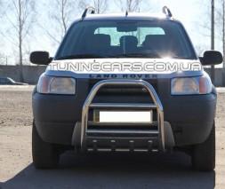 Защита переднего бампера для Land Rover Freelander (1998-2006) LRFL.98.F2-02 d60мм x 1.6