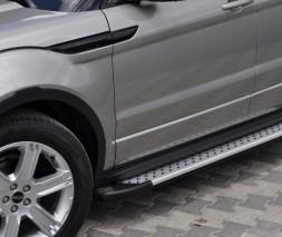Пороги Land Rover Range Rover Evoque [2011+] AB004 (Artemis Silver)