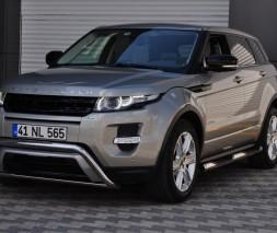 Пороги Land Rover Range Rover Evoque [2011+] TT002 (Dragos)