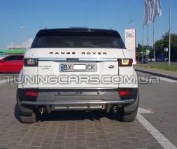 Защита заднего бампера Range Rover Evoque (2015+) RREG.15.B1-03