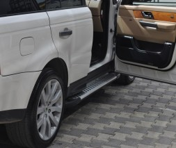 Пороги Land Rover Range Rover Sport AB004 (Artemis Silver)