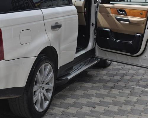 Пороги Land Rover Range Rover Sport AB004 (Artemis Silver)