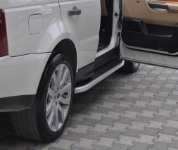 Пороги Land Rover Range Rover Sport NS001 (Newstar grey)