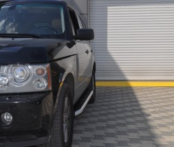Пороги Land Rover Range Rover Vogue [2006+] NS001 (Newstar grey)