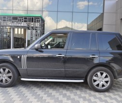 Пороги Land Rover Range Rover Vogue [2006+] NS001 (Newstar grey)
