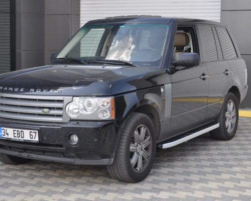 Пороги Land Rover Range Rover Vogue (2006+) NS001 (Newstar grey)