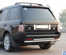 Задняя защита Land Rover Range Rover Vogue [2004-2012] AK002 Double