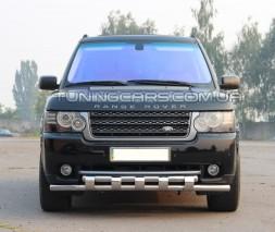 Передняя защита ус Land Rover Range Rover Vogue (02-12) LRRR.02.F3-12