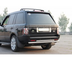 Защита заднего бампера для Land Rover Range Rover Vogue (2002-2012) LRRR.02.B1-05 d60мм x 1.6