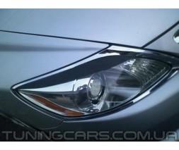 Накладки на фары (реснички) Lexus GS 300, Лексус ГС 300