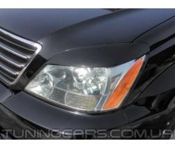 Накладки на фары (реснички) Lexus GX 470, Лексус ГХ 470