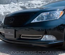 Накладка на передний бампер Lexus LS 460, Лексус ЛС 460