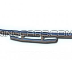 Защита заднего бампера для Lifan X60 (2013+) LFX6.13.B1-03 d60мм x 1.6