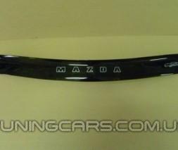 Дефлектор капота (мухобойка) Mazda 121 с 1996–1999, (Мазда 121)
