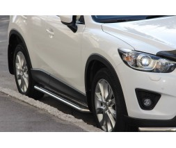 Пороги Mazda CX-5 [2011+] KB001 (Hector)