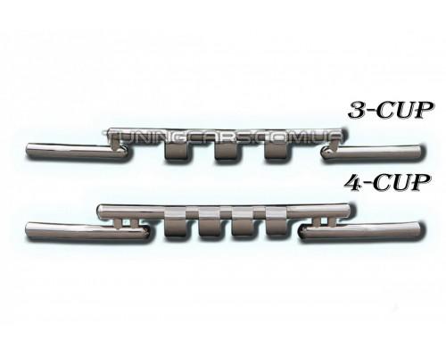 Защита переднего бампера для Mazda CX7 (2007-2010) MDX7.07.F3-08 d60мм x 1.6
