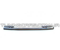 Защита переднего бампера для Mercedes-Benz ML W164 (2005-2011) MBML.05.F3-28 d60мм x 1.6
