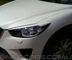 Накладки на фары (реснички) Mazda CX 5, Мазда ЦХ5