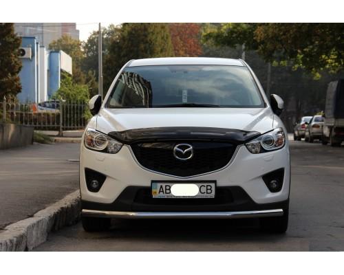 Защита переднего бампера для Mazda CX-5 (2012-2017) MDX5.12.F3-05