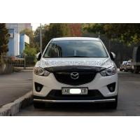 Защита переднего бампера для Mazda CX7 (2007-2010) MDX7.07.F3-05 d60мм x 1.6