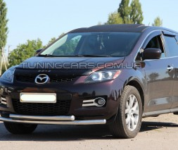Передняя защита ус Mazda CX7 (07-10) MDX7.07.F3-10