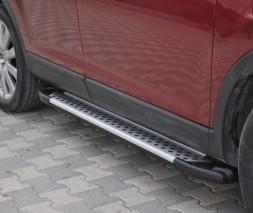 Пороги Mazda CX-9 [2007+] AB004 (Artemis Silver)