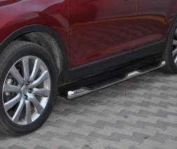 Пороги Mazda CX-9 [2007+] TT002 (Dragos)