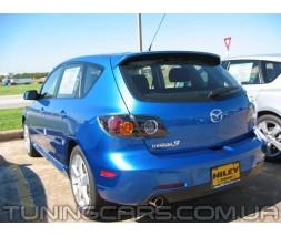 Спойлер для Mazda 3 Hatchback, Мазда BK Хэтчбек