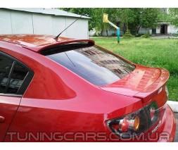 Спойлер на стекло Mazda III Sedan, Мазда 3 Седан