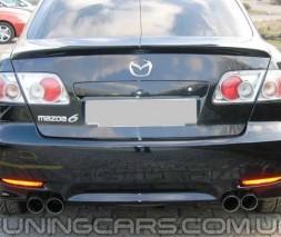 Лип спойлер Mazda 6 GG (02-08), Мазда