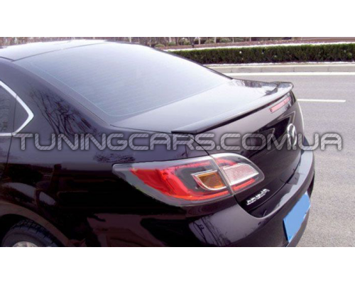 Лип спойлер Mazda 6 GH (08-12), Мазда VI