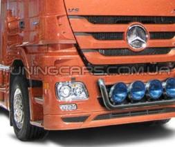 Держатель фар на радиатор для Mercedes-Benz Actros (2008-2011) MBAC.08.R1-01 d60мм x 1.6