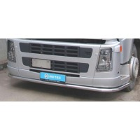Защита переднего бампера для Mercedes-Benz Actros (2008-2011) MBAC.08.FF3-03 d60мм x 1.6