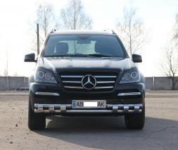 Кенгурятник Mercedes-Benz GL-Class ST015