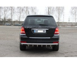 Задняя защита Mercedes-Benz GL (06-12) MBGL.05.B1-25