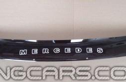 Дефлектор капота (мухобойка) Mercedes-Benz M-Klasse (W163) с 1997–2005, (Мерседес-бенц М класс)