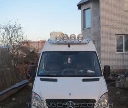 Держатель фар на крышу для Mercedes-Benz Sprinter (1995-2000) MBSP.95.H1-01 d60мм x 1.6