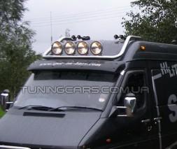 Люстра на крышу (4-ри фары) Mercedes-Benz Sprinter (95 - 00) MBSP.95.H1-02