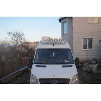 Держатель фар на крышу для Mercedes-Benz Sprinter (2014+) MBSP.14.H1-01 d60мм x 1.6