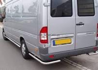 Задняя защита Mercedes-Benz Sprinter [2006+] AK003+SO001